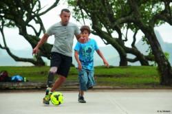 Prothese Sport - Fussball